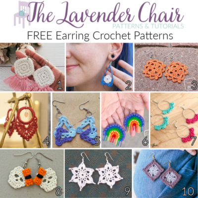 Free Earring Crochet Patterns
