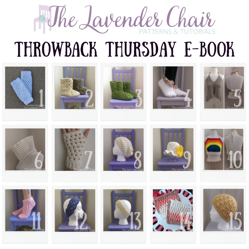 Throwback Thursday 2015 E-Book - The Lavender Chair