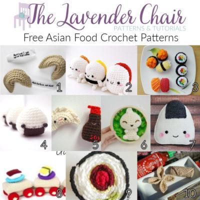 Free Asian Food Crochet Patterns