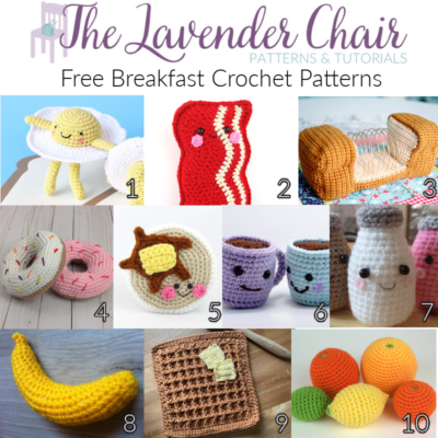 Free Breakfast Crochet Patterns