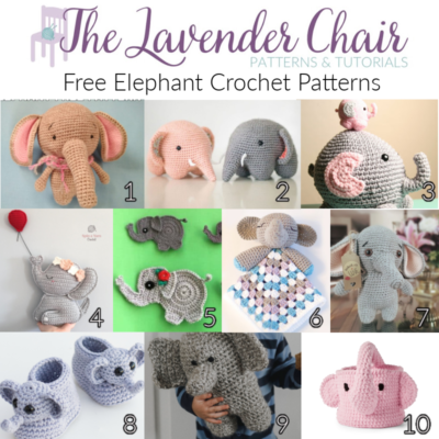 Free Elephant Crochet Patterns