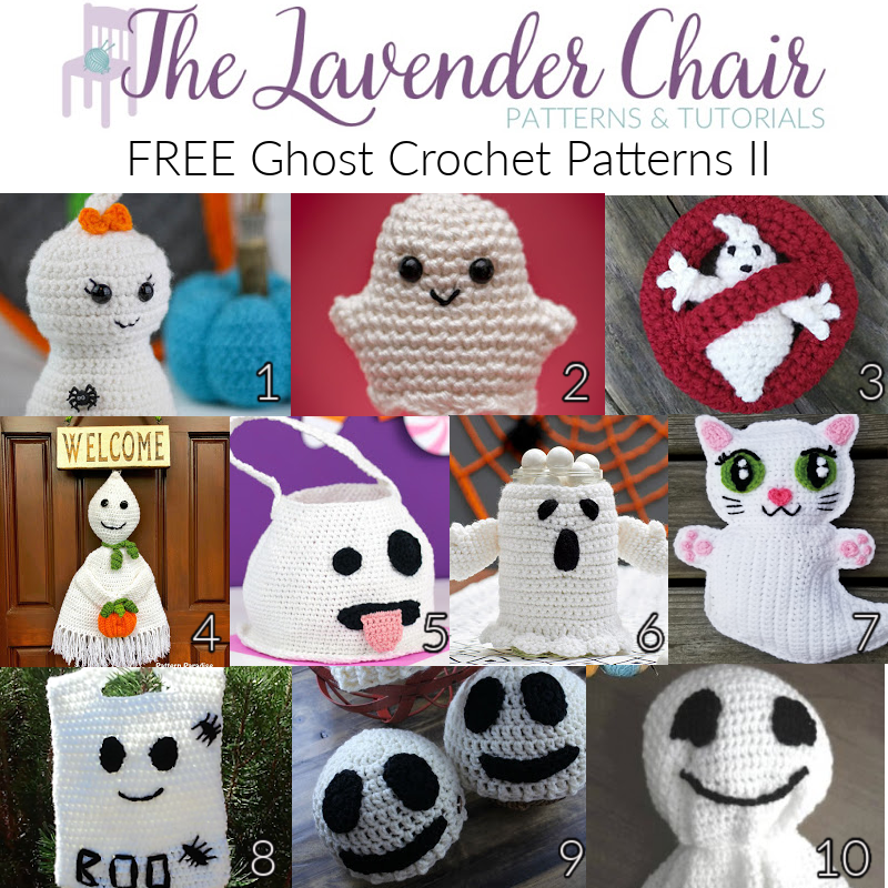 Free Ghost Crochet Patterns II - The Lavender Chair