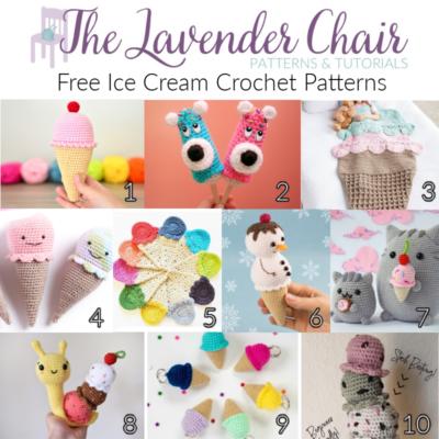 Free Ice Cream Crochet Patterns
