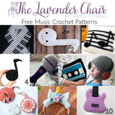 Free Music Crochet Patterns