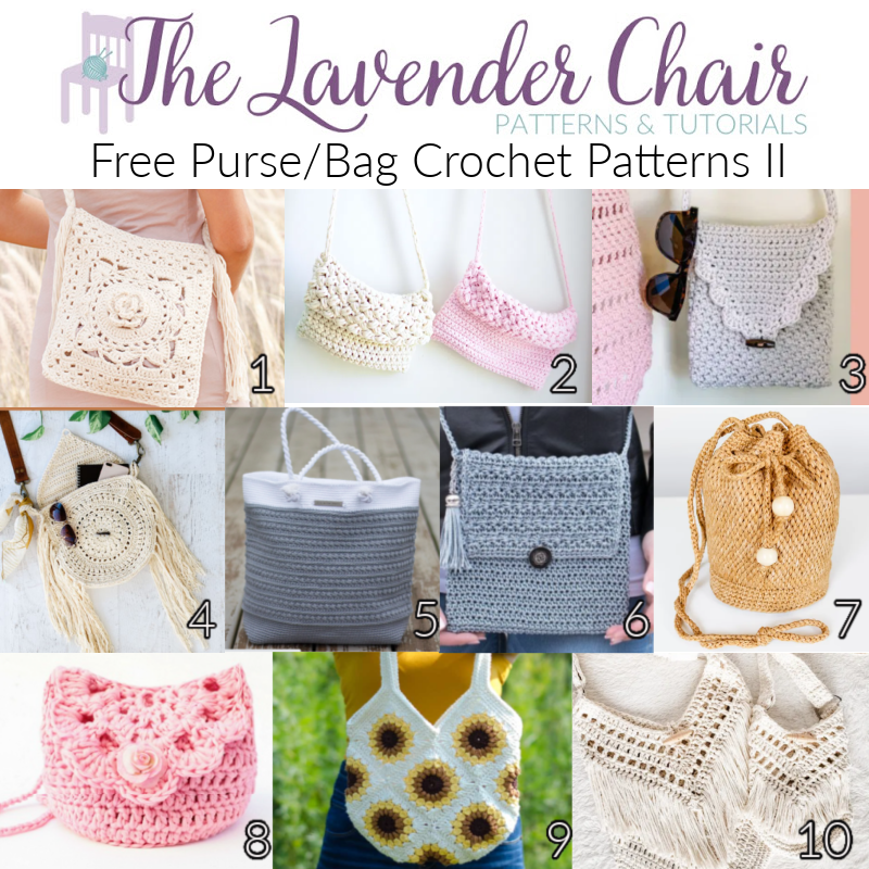 Free Purse/Bag Crochet Patterns II - The Lavender Chair