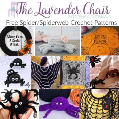 Free Spider/Spiderweb Crochet Patterns