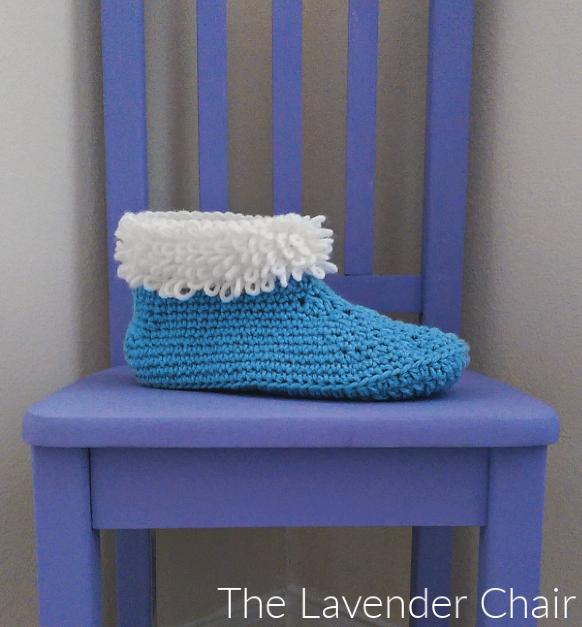Loop Stitch Slippers - Free Crochet Pattern - The Lavender Chair