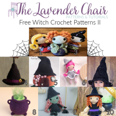 Free Witch Crochet Patterns II