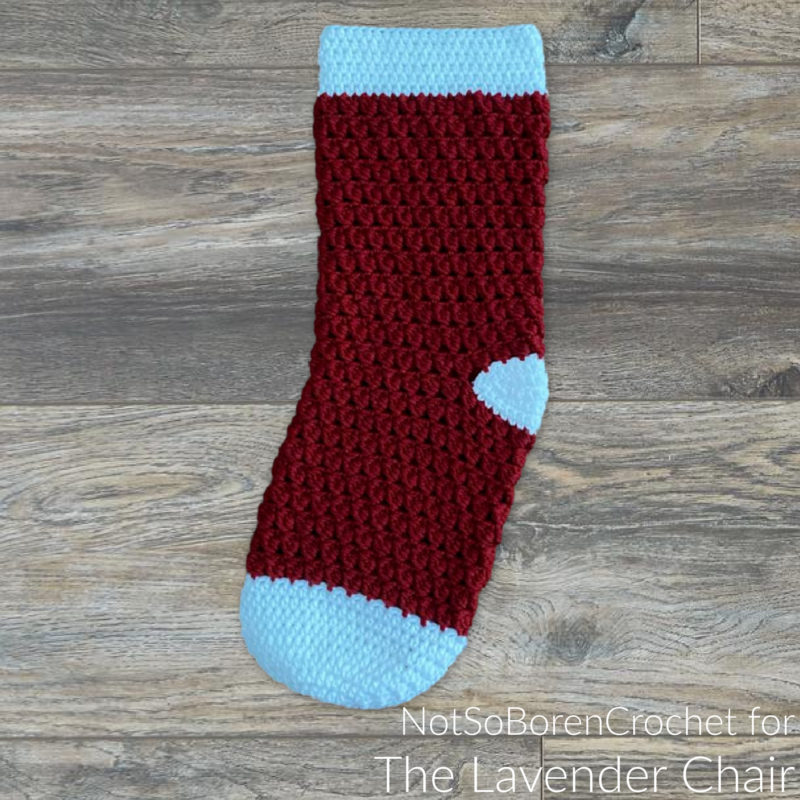 Clarissa Stocking - Free Crochet Pattern - The Lavender Chair