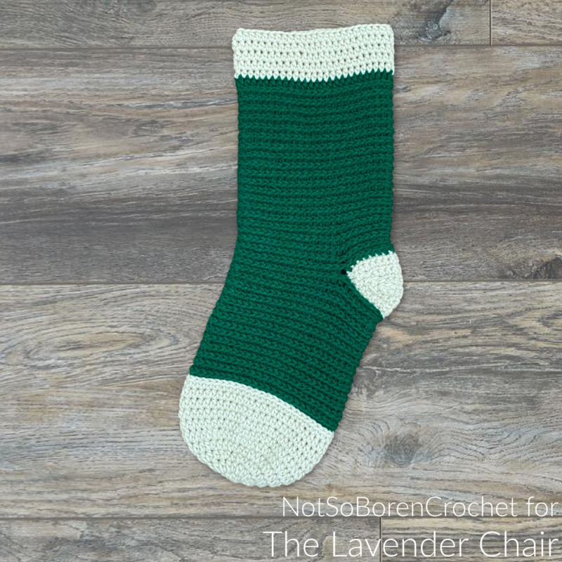 Samantha Stocking - Free Crochet Pattern - The Lavender Chair