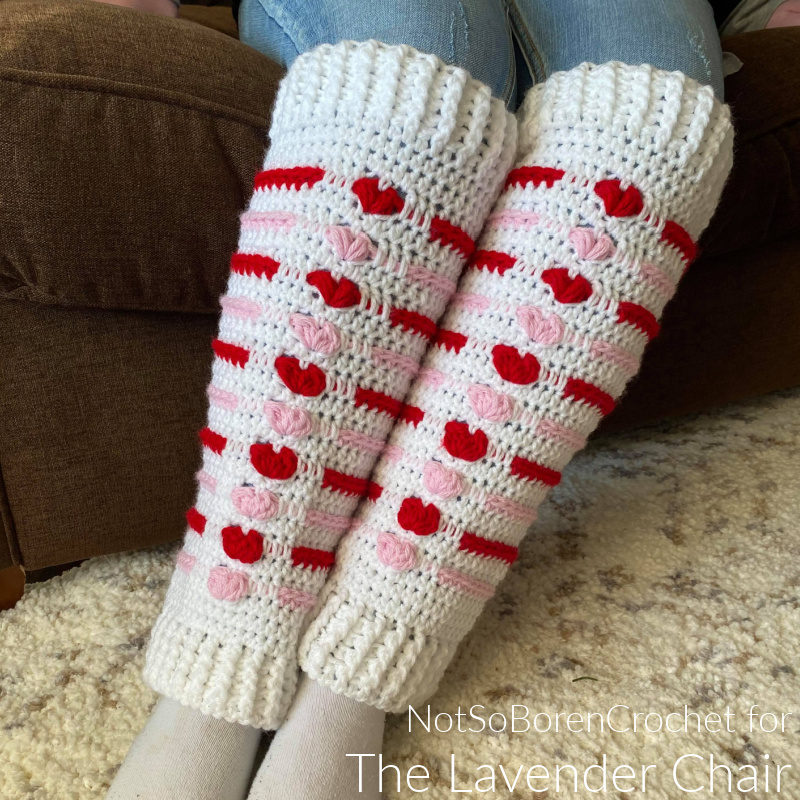 Love Me Tender Leg Warmers - Free Crochet Pattern - The Lavender Chair