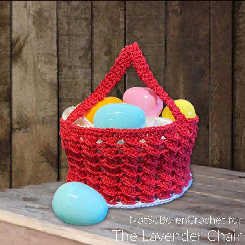 Matilda Easter Basket - Free Crochet Pattern - The Lavender Chair