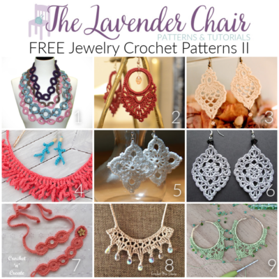 Read more about the article FREE Jewelry Crochet Patterns II
