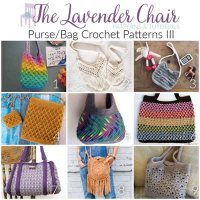 Purse and Bag Crochet Patterns III