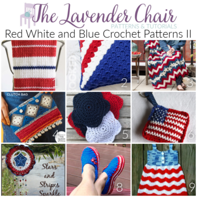 Read more about the article Red White and Blue Crochet Patterns II