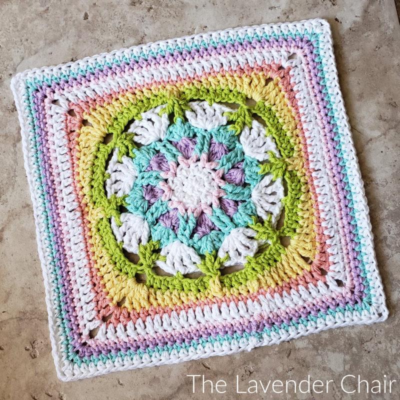 Venus Allure Square - Free Crochet Pattern - The Lavender Chair