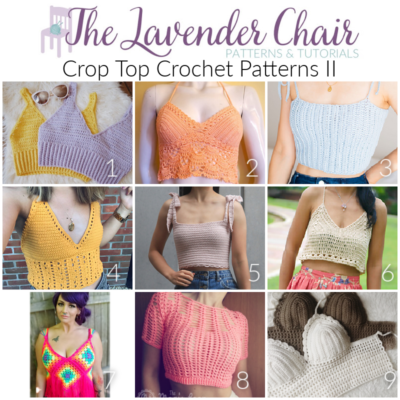 Read more about the article Crop Top Crochet Patterns II