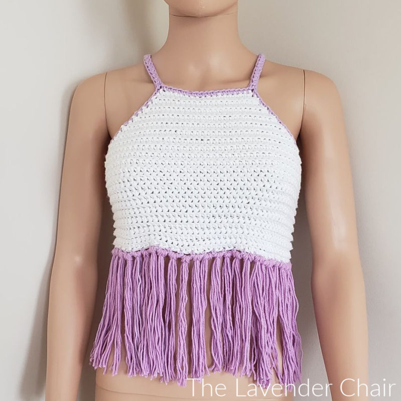 Stella Crop Top - Free Crochet Pattern - The Lavender Chair