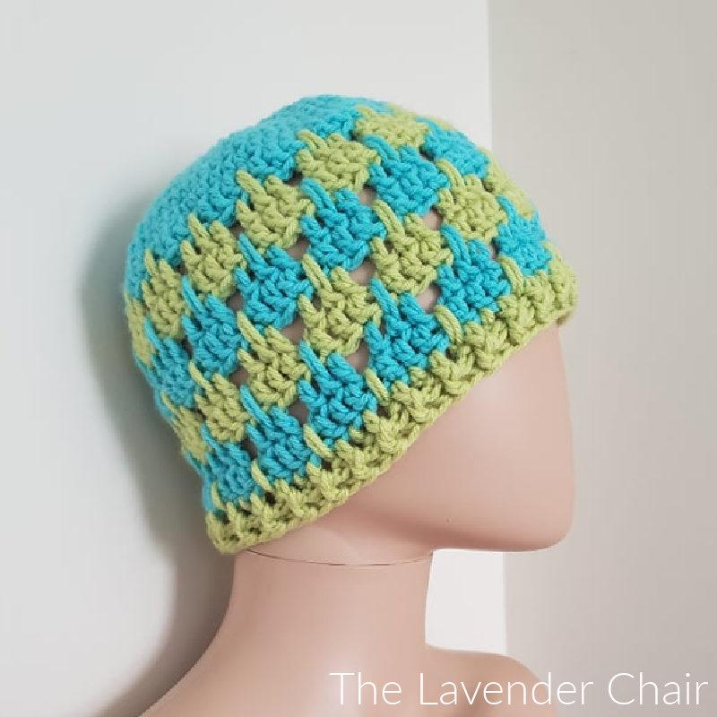 Arabella Beanie - Free Crochet Pattern - The Lavender Chair