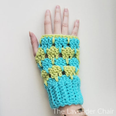 Read more about the article Arabella Fingerless Gloves Crochet Pattern