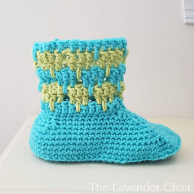 Read more about the article Arabella Slipper Crochet Pattern