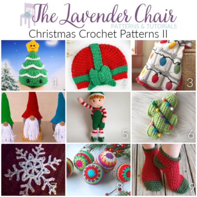 Read more about the article Christmas Crochet Patterns II