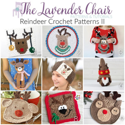 Read more about the article Reindeer Crochet Patterns II