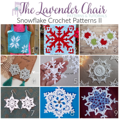 Read more about the article Snowflake Crochet Patterns II