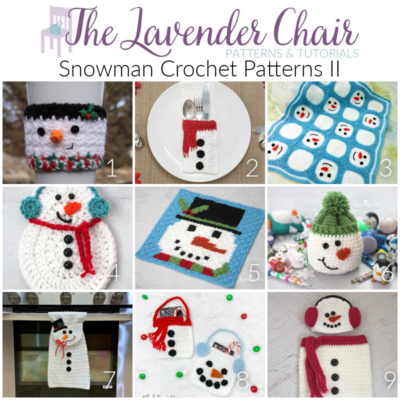 Read more about the article Snowman Crochet Patterns II